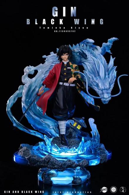 【PRE-ORDER】Gin X Black Wing Studio Tomioka Giyuu resin statue with LED