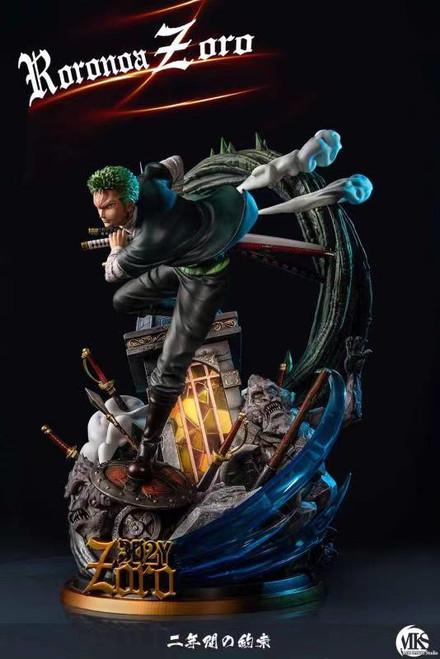 【PRE-ORDER】MonkeySon Studios Zoro resin statue