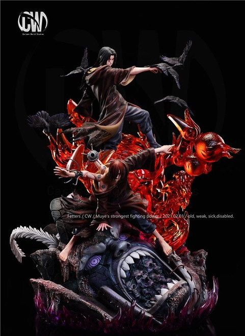【PRE-ORDER】CW Studio Uchiha Itachi&Pain resin statue 1/7