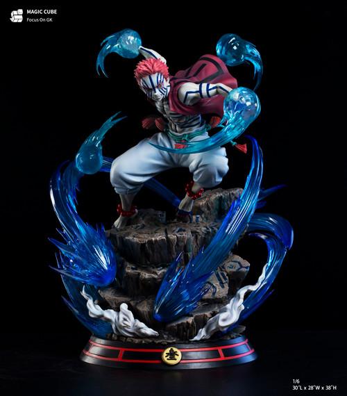 【PRE-ORDER】Magic Cube Studio Akaza resin statue with LED