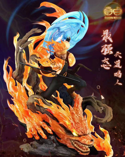 【IN-STOCK】Singularity studio 1:7 Naruto with LED