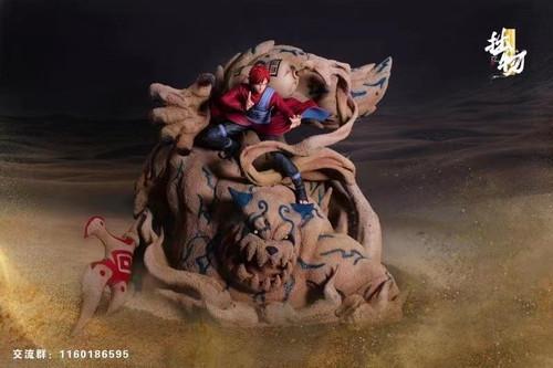 【PRE-ORDER】ZHUOWU Studio 1/4&1/6  Gaara resin statue