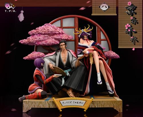 【PRE-ORDER】T.P.A Studio Kyoraku Shunsui&katenkyoukotsu 1/8 resin statue
