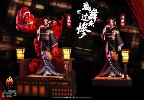 【PRE-ORDER】TOP Studio Kibutsuji Muzan resin statue with LED