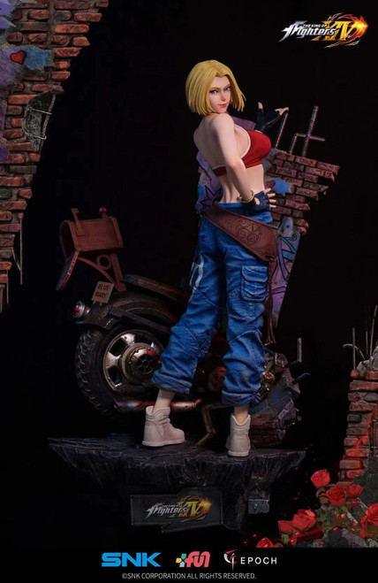【PRE-ORDER】Epoch studios & SNK Blue Mary resin statue 1/4