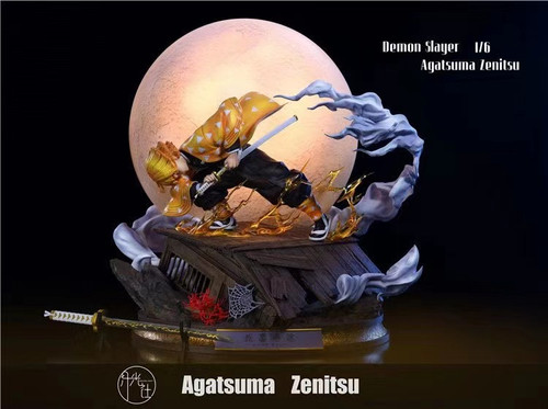【PRE-ORDER】Moonlight Studio Agatsuma Zenitsu resin statue with LED
