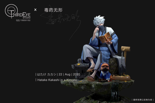 【IN-STOCK】Third Eye Kimono studio  Kakashi 1/6 scale