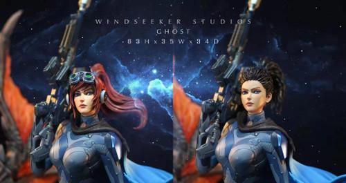 【PRE-ORDER】WD Studios GHOST resin statue 1/4
