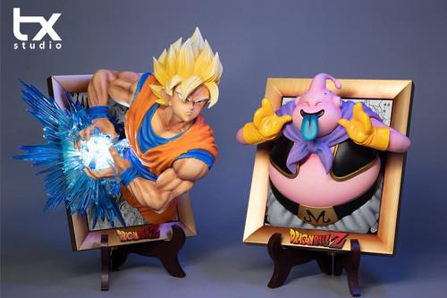【PRE-ORDER】tx studio Goku & Buu resin statue