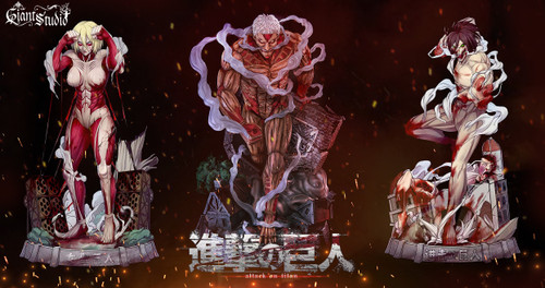 【Pre-order】Giant Studio The Armored Titan resin statue