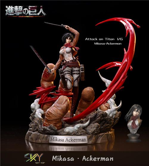 【PRE-ORDER】ky&Sxe studio 1/6 Mikasa·Ackerman  resin statue