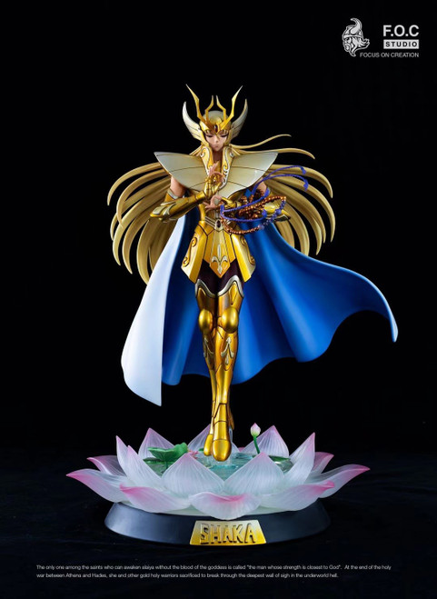 【IN-STOCK】FOC studio Saint Seiya Shaka resin statue EX
