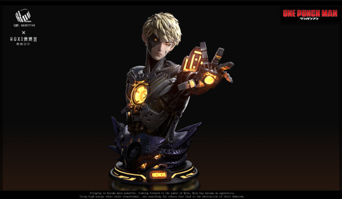 【PRE-ORDER】NN studio Genos Bust 1:1 scale  with LEDS