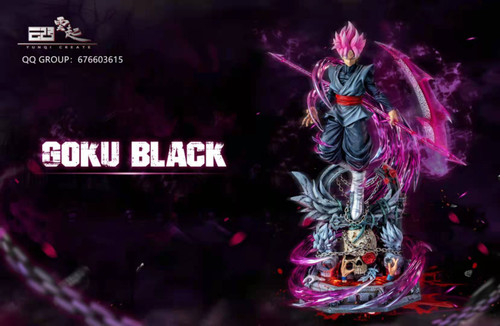 【PRE-ORDER】YunQi Studio Rose Goku resin statue with LED