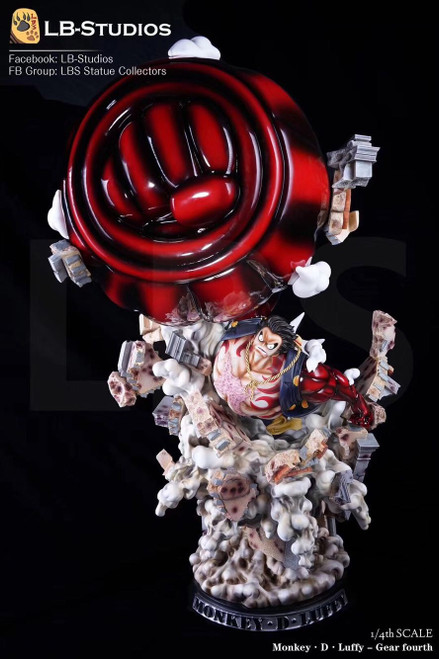 【IN-STOCK】LBS 1:4 LUFFY RESIN STATUE  SHCC exhibition version
