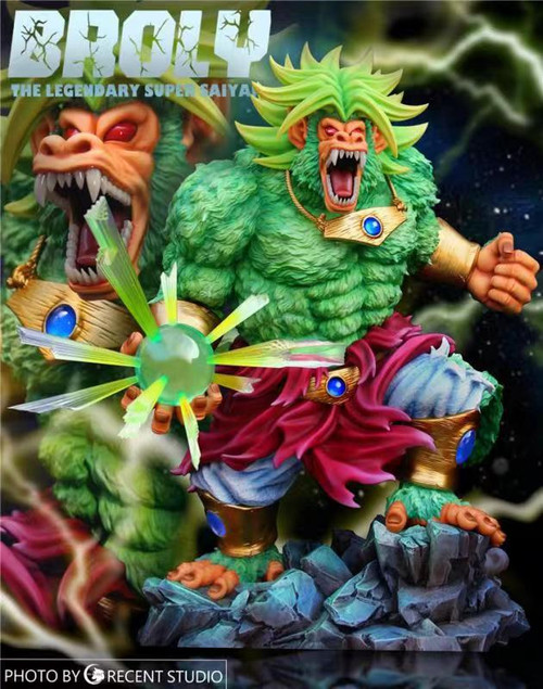 【PRE-ORDER】Crescent Studio Ape Broly resin statue with LED