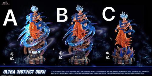 【PRE-ORDER】YunQI studio UI Goku 1:6 three versions