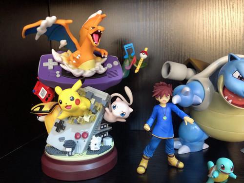 【IN-STOCK】 MFC Pokemon resin figure GBA pikachu