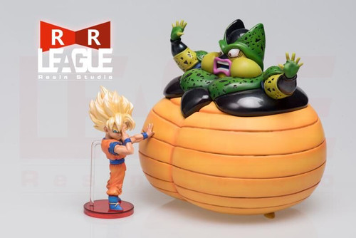 【PRE-ORDER】LEAGUE WCF RESIN GOKU&Cell