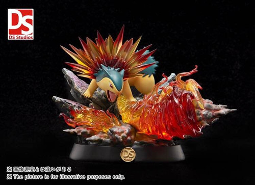 【PRE-ORDER】DS studio pokemon Typhlosion resin statue