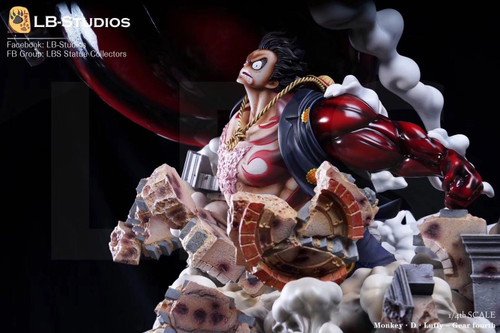 【IN-STOCK】LBS 1:4 LUFFY RESIN STATUE