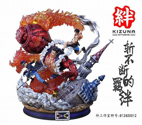 PRE-ORDER】S-ONE Studio Kaido vs Luffy resin statue - FNC STORE