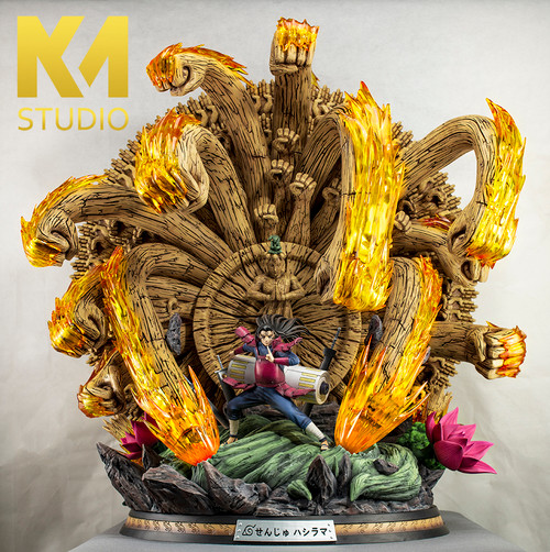 【PRE-ORDER】KM Studio Naruto Shodai Hokage Senju Hashirama resin statue