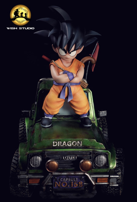 【PRE-ORDER】Wish-Studio Dragonball Goku resin statue