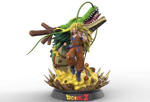 【PRE-ORDER】Legendar studio goku & dragon 1:4 resin statue