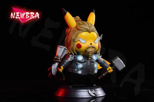 【PRE-ORDER】NEWBRA Studio Thor pikachu Cos resin toy