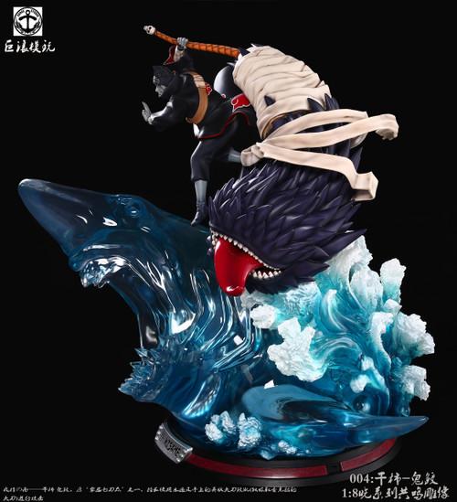 【IN-STOCK】Surge studio Kisame resin statue Free Konan pikachu