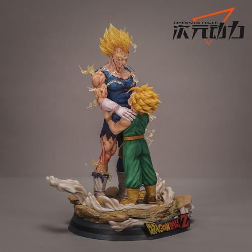 【IN-STOCK】Dimension Power Studio DBZ resin statue 1:4 vegeta&trunk
