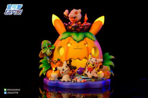 【PRE-ORDER】Pokemon Laboratory studio Hallowmas scene