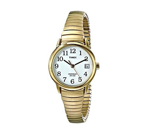 Timex T2H351 Ladies Classic Gold Expandable Watch