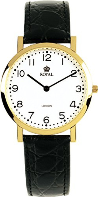 Royal London 4312-1A Gents Gold Watch