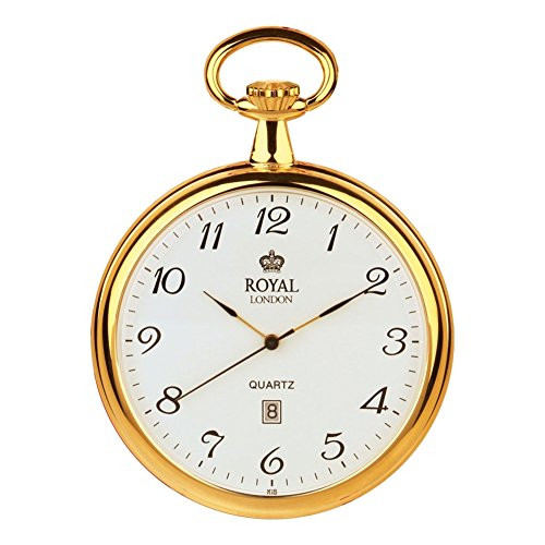 Royal London 90015-02 Mens Quartz Pocket Watch