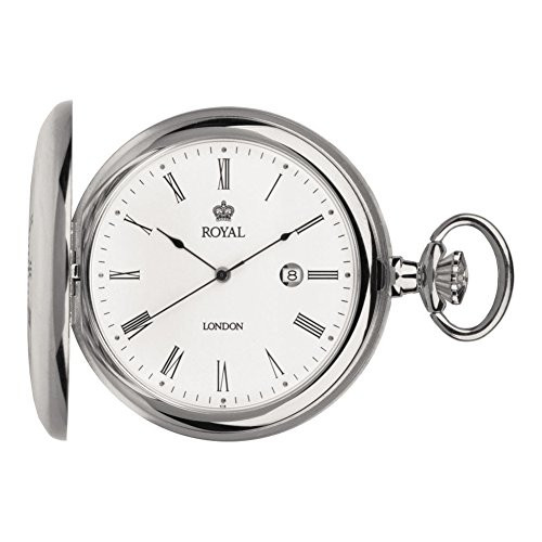 Royal London 90008-01 Mens Quartz Pocket Watch