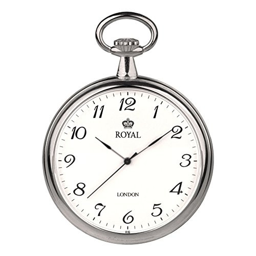 Royal London 90014-01 Mens Quartz Pocket Watch