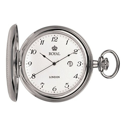 Royal London 90000-01 Mens Quartz Pocket Watch