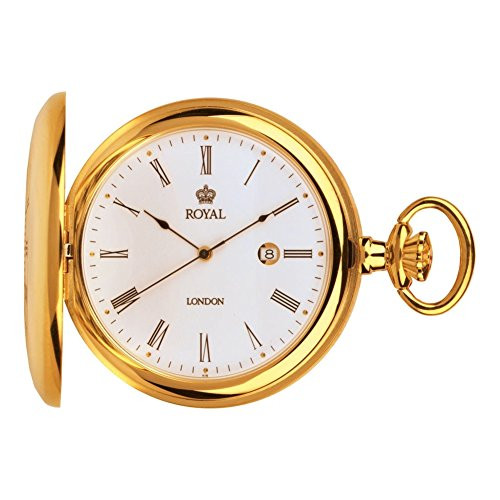 Royal London 90008-02 Mens Quartz Pocket Watch