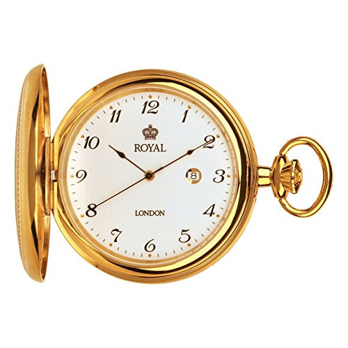Royal London 90000-02 Mens Quartz Pocket Watch