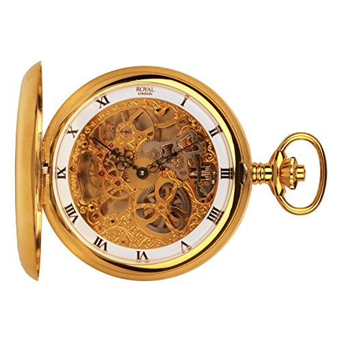 Royal London 90016-02 Mens Mechanical Pocket Watch