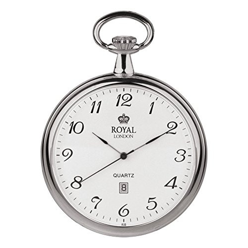Royal London 90015-01 Mens Quartz Pocket Watch