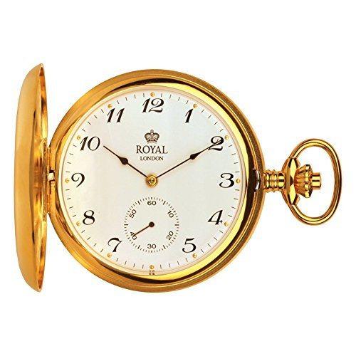 Royal London 90019-02 Mens Mechanical Pocket Watch