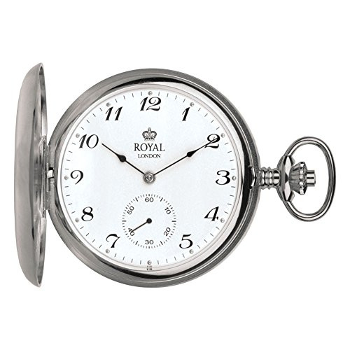 Royal London 90019-01 Mens Mechanical Pocket Watch