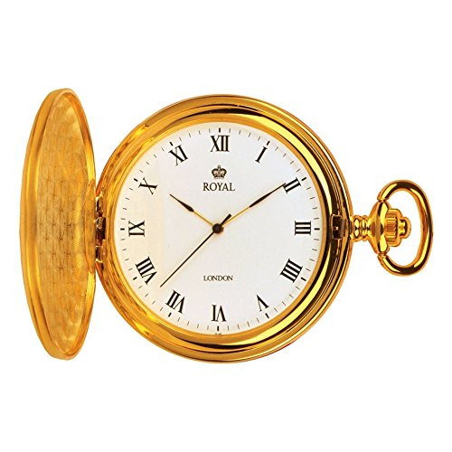 Royal London 90021-02 Mens Quartz Pocket Watch