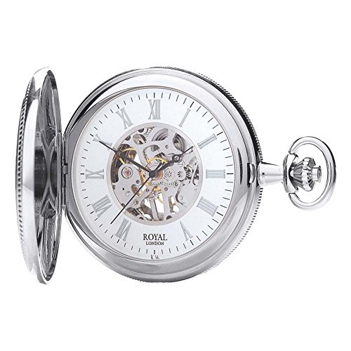 Royal London 90029-01 Mens Mechanical Pocket Watch