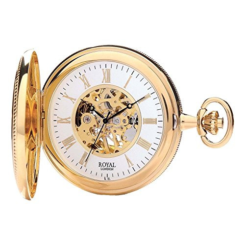 Royal London 90029-02 Mens Mechanical Pocket Watch