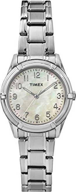 Timex Ladies TW2P76000 Wms Easton Ave. Rd ST case/Mother of pearl dial - ST bracelet
