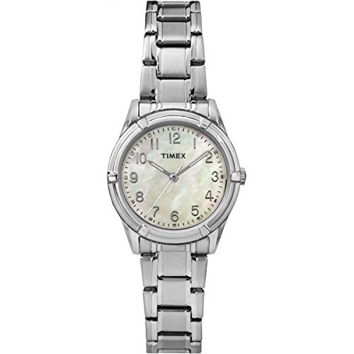 Timex Ladies TW2P78300 Mns Easton Ave. Rd GT case/Mother of pearl dial/ GT bracelet